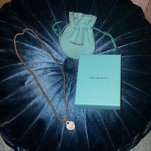 Return to Tiffany bead Necklace